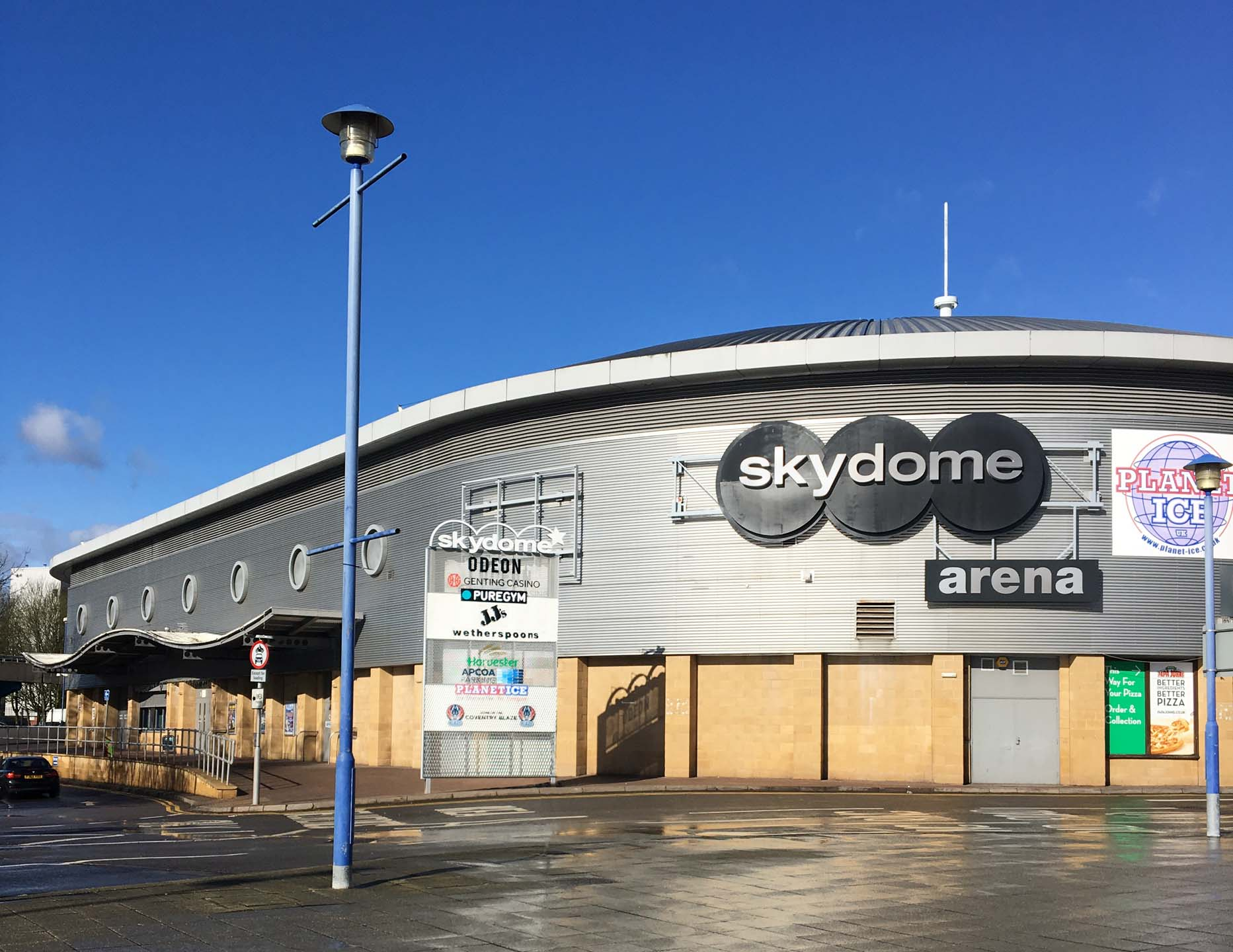 Skydome Arena Coventry